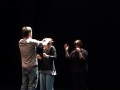 Culte, anne delemotte, performance collective, 2009