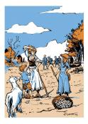 """""""L'année de la chèvre"""", Duprat, Boîte à bulles"""