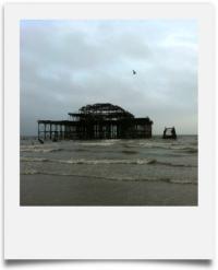 le West Pier de Brighton