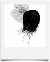 Extra - visuel de l'affiche de l'exposition par Yanick Calvez pour la malterie.