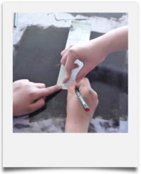 atelier enfants par Knapfla.