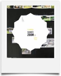 Carton du flyer pour la soirée ZOOM sur Léonie Young à la malterie