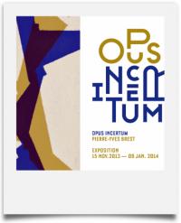 Opus Incertum, une exposition de Pierre-Yves Brest